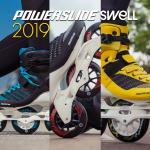 Three completely new Powerslide - Swell skate models for advanced fitness skating