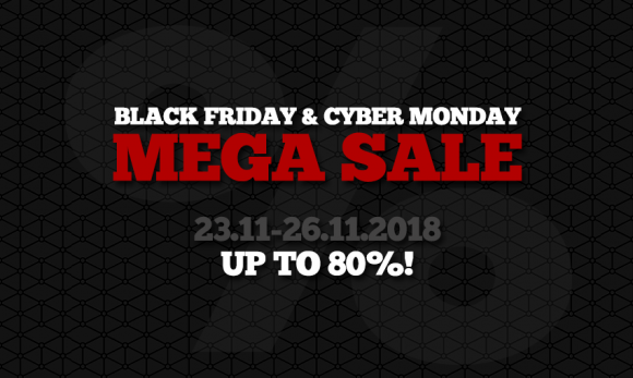 Black Friday and Cyber Monday - MEGA SALE