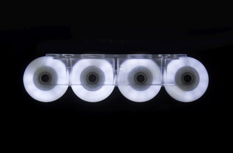 Glowing LED skate wheels - Powerslide - Fothon