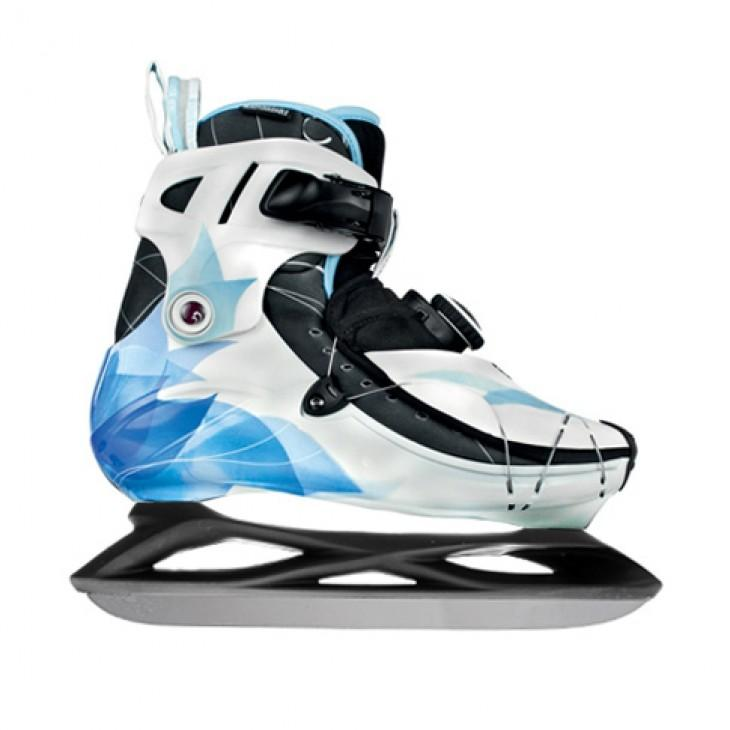 Ice frame/blade for inline skates with 195mm mouting