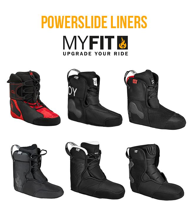 Powerslide MyFit Liners - which one to choose?