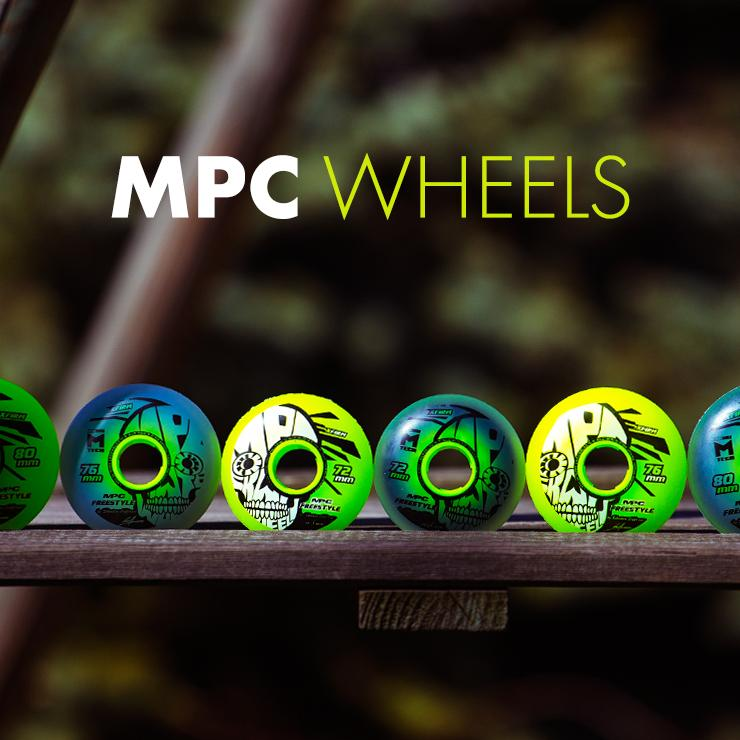 MPC - Freestyle wheels available in two different versions and 3 different sizes