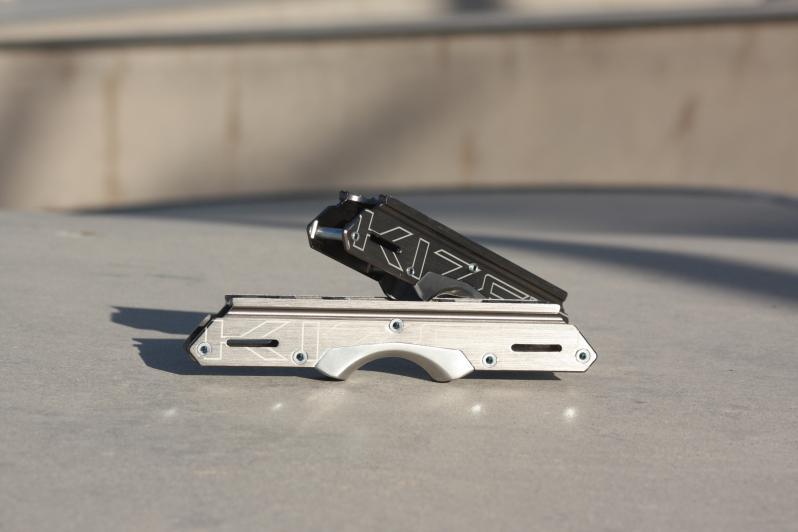 Aluminium frame for aggressive skating - Kizer Element II