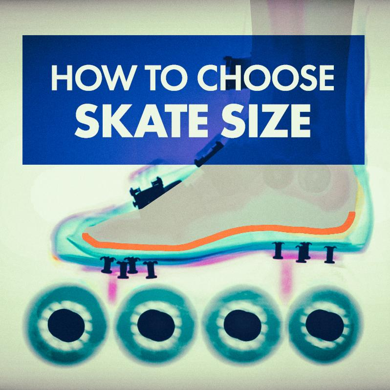 How to choose a size of the skate