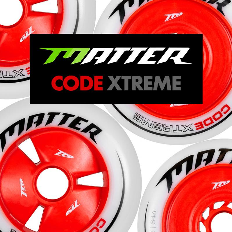 New Matter Wheels for Inline Alpine and Speed Slalom