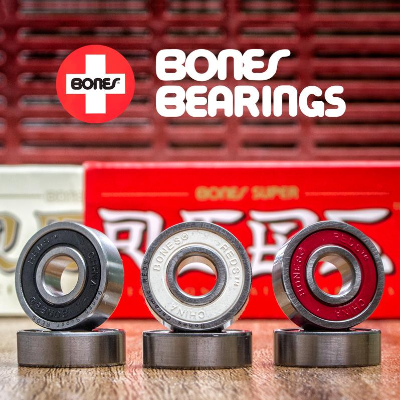 Bones bearings for inline skates - reds, ceramis and swiss
