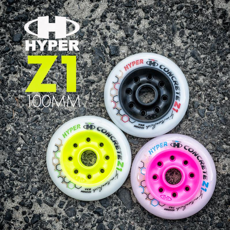 Hyper - Concrete Z1 100mm wheels of various hardness