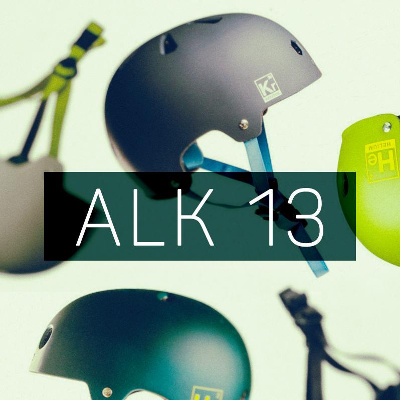 New Alk 13 helmets