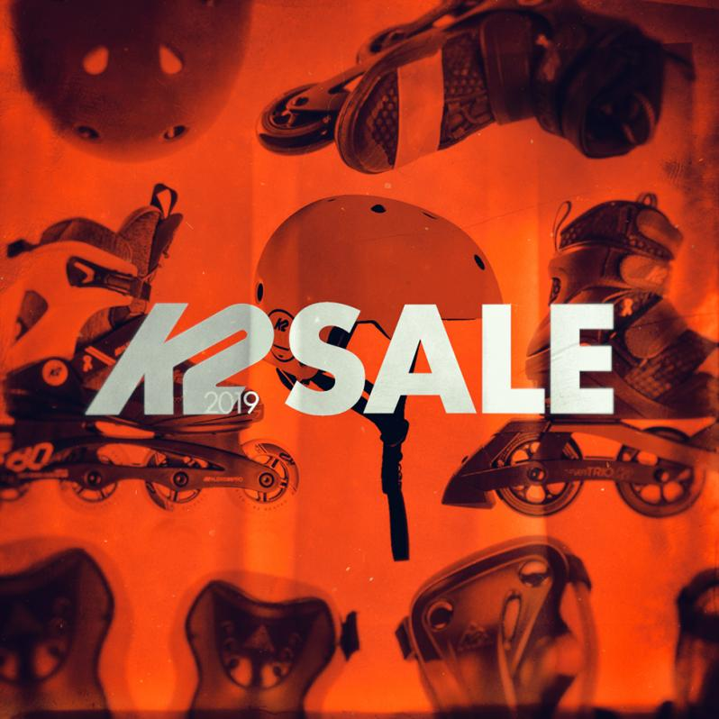 Sale of K2 2019 skates, helmets, protecting gear and accessories