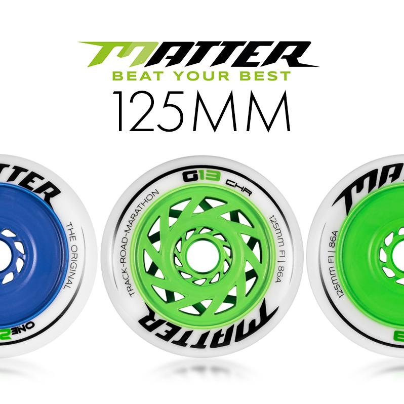 New Matter 125mm wheels - G13 and One20Five - What are the differences