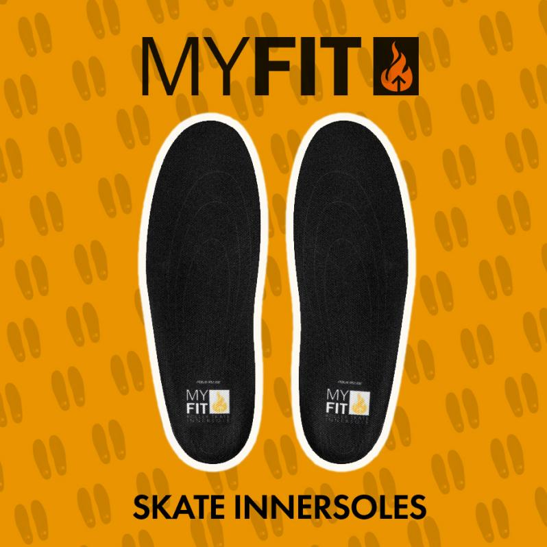 Powerslide MyFit insoles - sizes and specifications