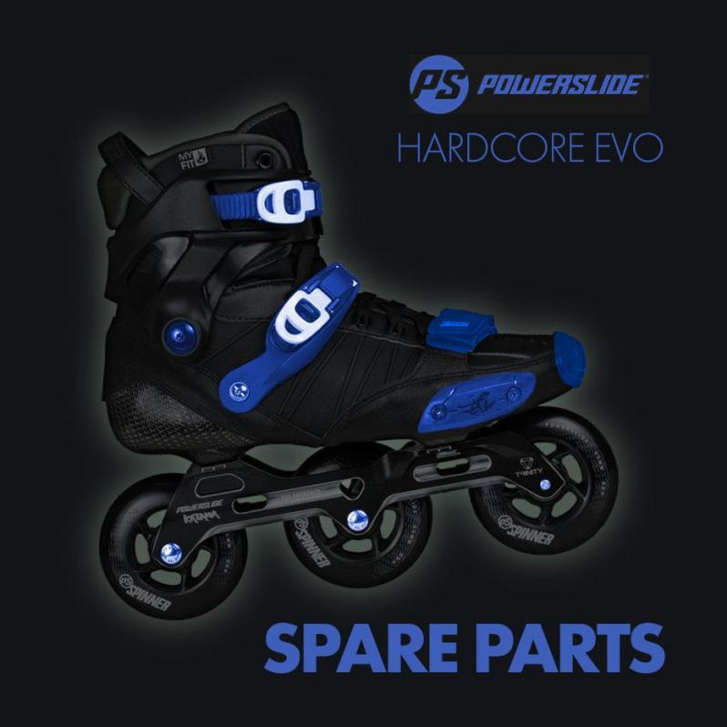 Powerslide Hardcore EVO - List of Spare Parts