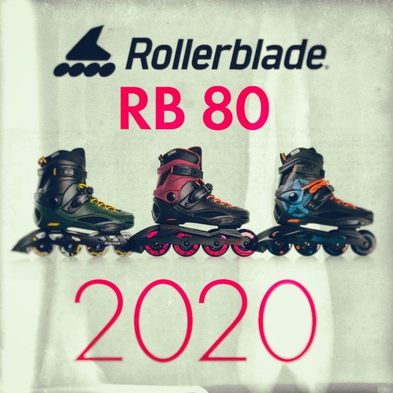 Rolleblade RB 80 - three new skate models for the 2020 season
