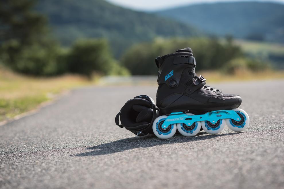 Height of Powerslide - KAZE skates