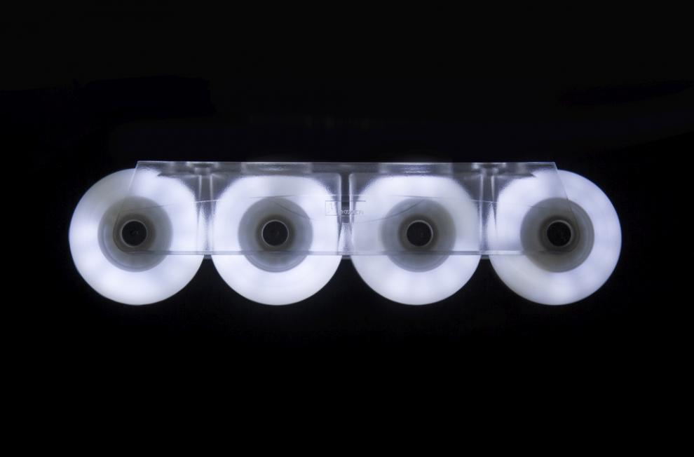 Glowing LED skate wheels - Powerslide - Fothon