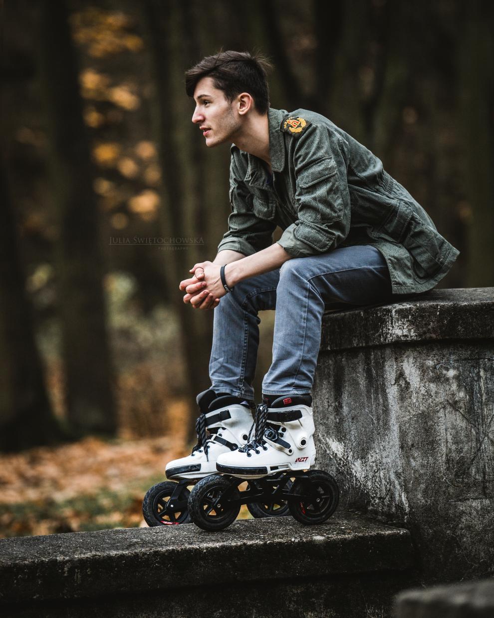 Video - Tomasz Ardzinski on Powerslide - Next skates with Edge Off-Road frame