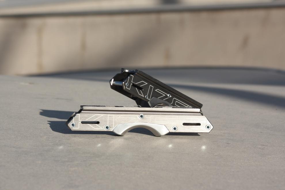 Aluminium frame for aggressive skating - Kizer Element II