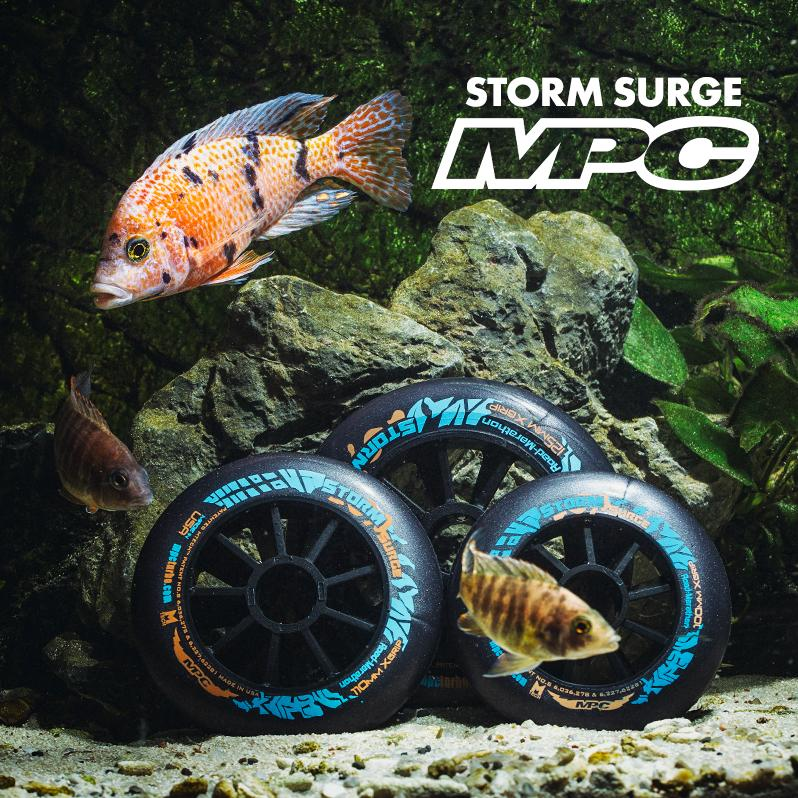 MPC - Storm Surge wheels for speed skating in wet conditions