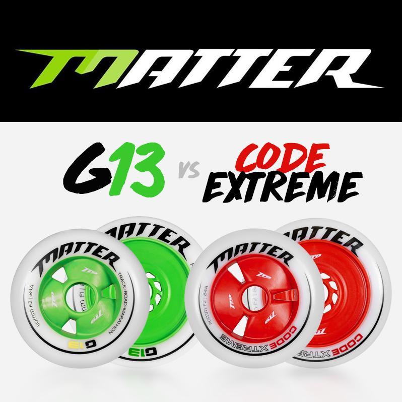 Inline Alpine - Code Extreme or G13 wheels?