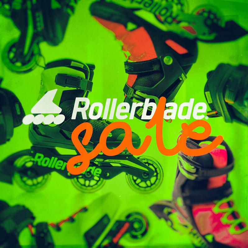 Sale of Rollerblade 2019 skates, parts and accessories