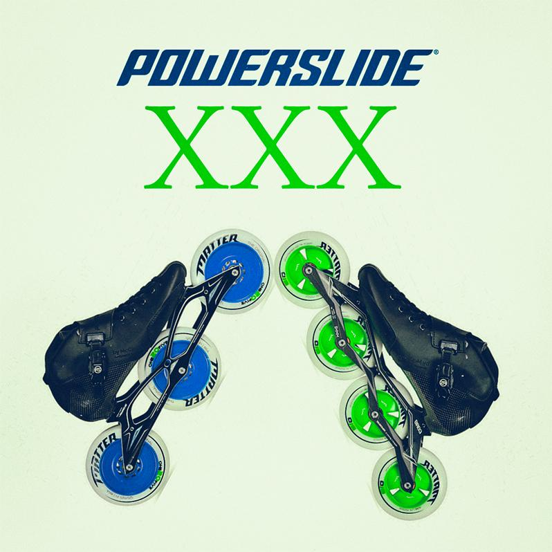 Powerslide introduces three new skate models for speed skating - the XXX series