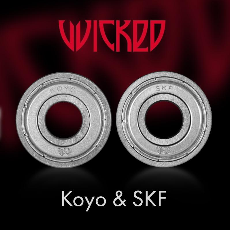 New Wicked Bearings - Koyo and SKF - what are they
