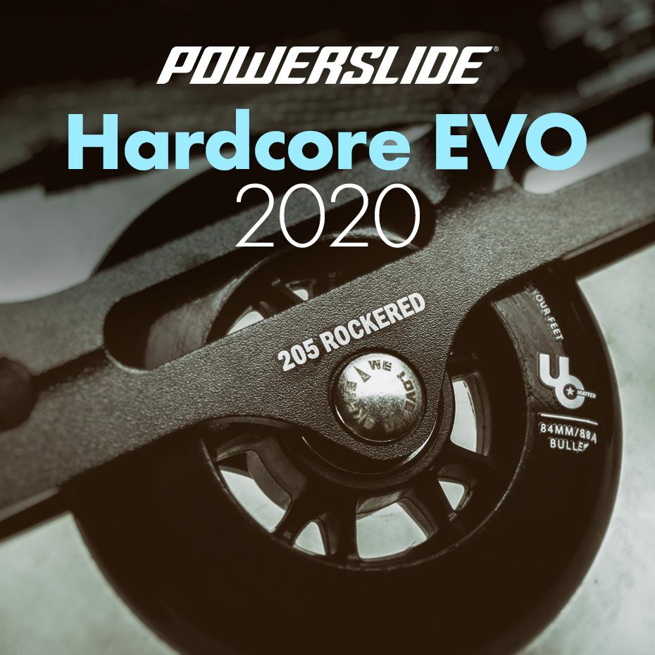 Powerslide - Hardcore EVO 2020 - changes