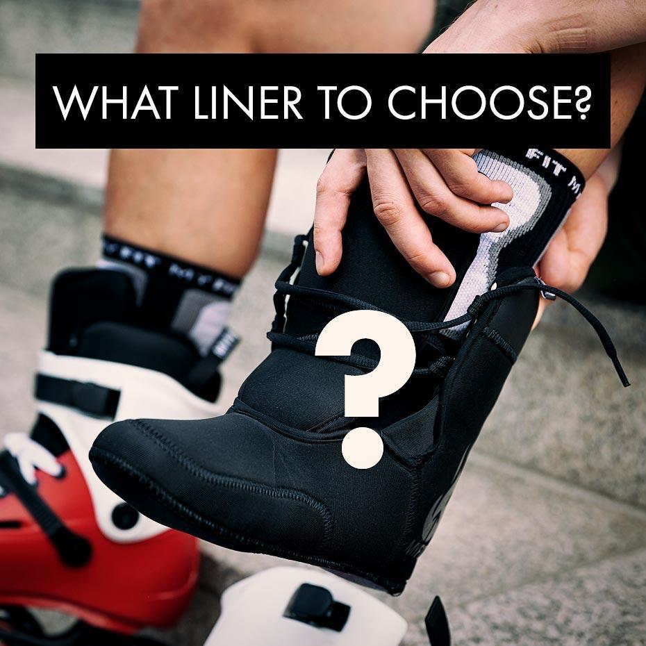 Which liner should I choose for my skates?