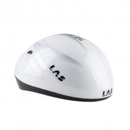 Las - Short Track Helmet - Biało/Srebrny