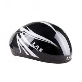 Las - Short Track Helmet - Czarno/Biały