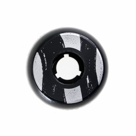 Dead - Team 58mm/92a - Black/Silver Ring
