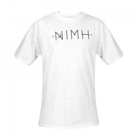 T-shirts - Nimh - Logo T-shirt - White - Photo 1