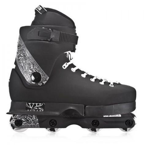 Skates - Usd - VII 09 - Czarne Inline Skates - Photo 1