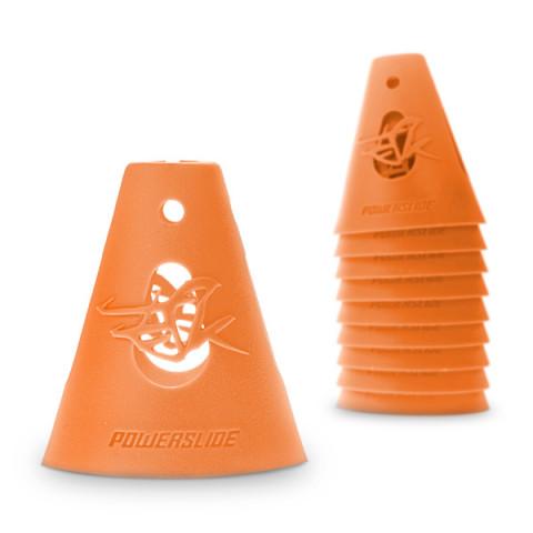 Slalom cones - Powerslide - Cones - Orange (10 szt.) - Photo 1