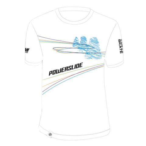 T-shirts - Powerslide - FSK Cones T-shirt - White - Photo 1