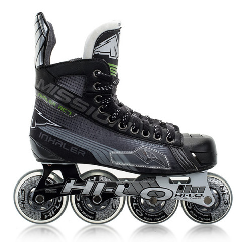 E Mission Inhaler AC7 Youth Inline Hockey Skates