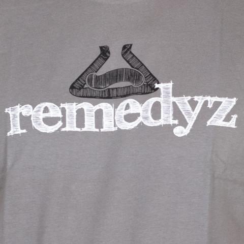 Remz - Craft T-shirt - Grey