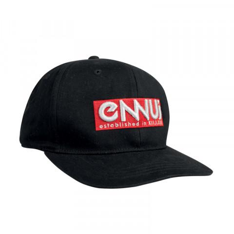Ennui - Logo Cap - Black/Red