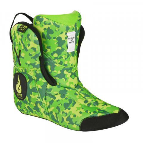 Liners - Powerslide - MyFit Liner Fat Boy - Neon Army - Photo 1