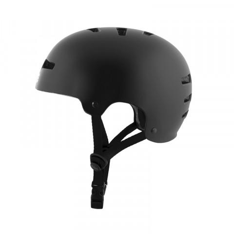 Helmets - TSG - Evolution Helmet - Satin Black Helmet - Photo 1