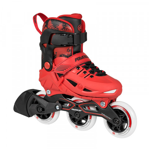 Skates - Powerslide - Phuzion Universe - Red Inline Skates - Photo 1