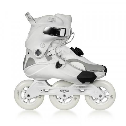 Skates - Powerslide - V. 100 - Radium White Inline Skates - Photo 1