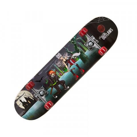 Skateboards - Playlife - Outlaw Skateboard - Photo 1