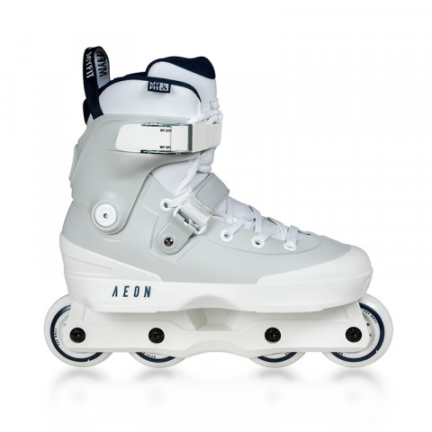 Skates - Usd - Aeon 72 - White/Grey Inline Skates - Photo 1