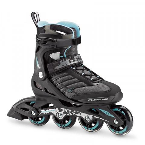 Skates - Rollerblade - Zetrablade W - Black/Bluce Cyan Inline Skates - Photo 1