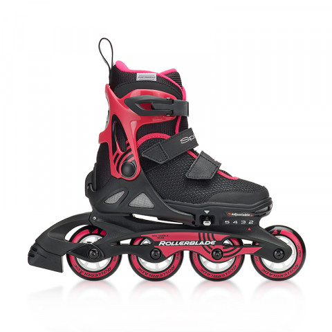 Skates - Rollerblade - Spitfire SL G - Black/Pink Inline Skates - Photo 1