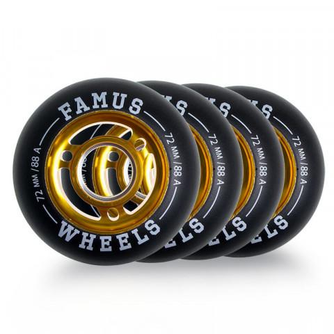 Wheels - Famus - Alu Flash Wheel 72mm/88A - Photo 1