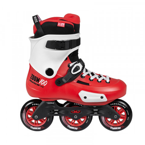 Skates - Powerslide - Zoom 100 - Red Inline Skates - Photo 1