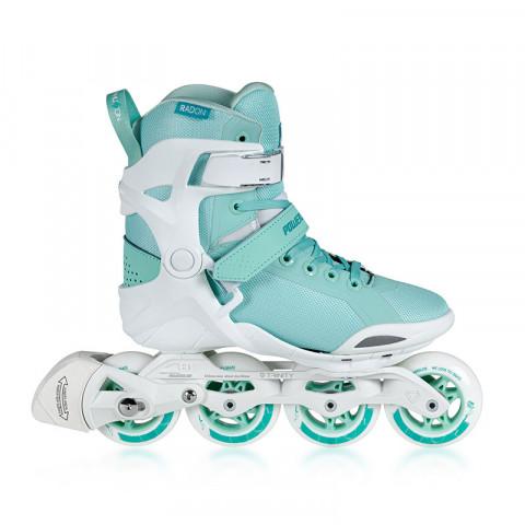 Skates - Powerslide - Phuzion Radon 80 Teal Inline Skates - Photo 1