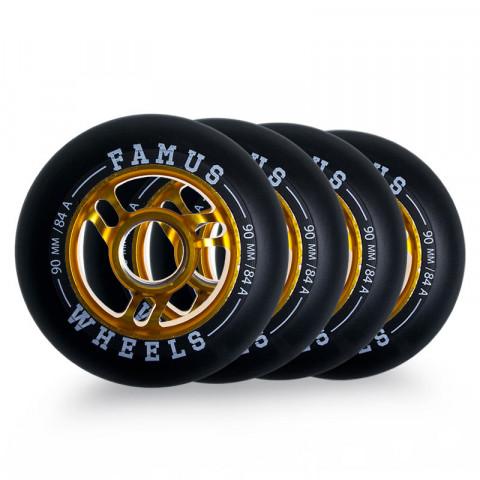 Wheels - Famus - Alu Fugitive Wheel 90mm/84A - Photo 1
